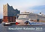 Kreuzfahrt-Kalender 2019 | Wandkalender DIN A3 quer| 14 Seiten | inkl. Gratis Postkarte | Kreuzfahrtschiffe 2019 | Kreuzfahrtkalender | Kreuzfahrten | AIDA, TUI, Mein Schiff, AIDAnova, AIDAperla