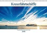 Kreuzfahrtschiffe 2018 (Wandkalender 2018 DIN A4 quer): Traumschiffe in der Kieler Förde (Monatskalender, 14 Seiten ) (CALVENDO Mobilitaet)