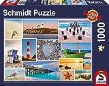 Schmidt Spiele 58221 - Am Meer, 1.000 Teile, Klassische Puzzle