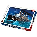 Trefl 10080 Titanic, Premium Quality, für Erwachsene, Puzzle, 1000 Teile, mit Schiff, für Kinder ab 12 Jahren