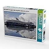 CALVENDO Puzzle Mein Schiff 1, Passagiere 1924, Länge 262 m, Breite 32 m, 21,5 Kn. 1000 Teile Lege-Größe 64 x 48 cm Foto-Puzzle Bild von Frank Gayde