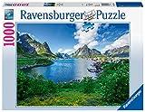 Ravensburger Puzzle 19711 - Auf den Lofoten - 1000 Teile Puzzle für Erwachsene und Kinder ab 14 Jahren, Landschaftspuzzle