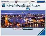 Ravensburger Puzzle 15064 - London bei Nacht - 1000 Teile Puzzle für Erwachsene und Kinder ab 14 Jahren, London-Puzzle im Panorama-Format