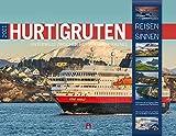 Hurtigruten Kalender 2021, Wandkalender im Querformat (54x42 cm) - Norwegen / Skandinavien mit Bildern der beliebten Kreuzfahrtroute