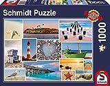 Schmidt Spiele 58221 Am Meer, 1000 Teile Puzzle, bunt