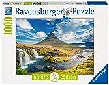 Ravensburger Puzzle 19539 - Wasserfall von Kirkjufell - 1000 Teile Puzzle für Erwachsene und Kinder ab 14 Jahren, Puzzle mit Landschafts-Motiv