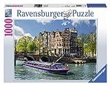 Ravensburger Puzzle 19138 - Grachtenfahrt in Amsterdam - 1000 Teile