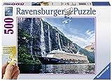 Ravensburger Puzzle 13647 - Mein Schiff 4 im Fjord 500p - 500 Teile