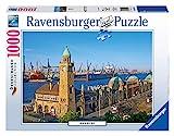 Ravensburger Puzzle 1000 Teile Hamburg , Puzzle für Erwachsene und Kinder ab 14 Jahren