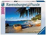 Ravensburger Puzzle 19018 - Unter Palmen - 1000 Teile Puzzle für Erwachsene und Kinder ab 14 Jahren, Puzzle mit Strand-Motiv