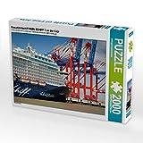 CALVENDO Puzzle Kreuzfahrtschiff Mein Schiff 3 an der Kaje 2000 Teile Lege-Größe 90 x 67 cm Foto-Puzzle Bild von Alexander Zeugner