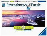 Ravensburger Puzzle 15075 - Jökulsárlón, Island - 1000 Teile Puzzle für Erwachsene und Kinder ab 14 Jahren, Strand-Puzzle im Panorama-Format