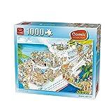 Verrückte Kreuzfahrt Cartoon Puzzle 1000 Teile (King)