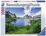 Ravensburger 197118 Puzzle 19711 - Auf den Lofoten - 1000 Teile