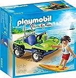 PLAYMOBIL Family Fun 6982 Surfer mit Strandbuggy, Ab 6 Jahren
