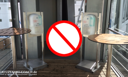 AIDA – Verbotene Gegenstände an Bord