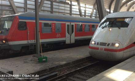 Tipps zur Anreise mit der Bahn