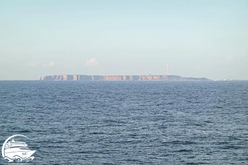 Seekrank auf der Fahrt nach Helgoland