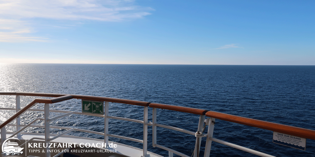 Seekrankheit - Ohne Seegang wird man kaum Seekrank ... ;-)