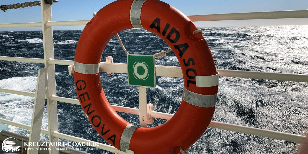 AIDA Seenotrettungsübung