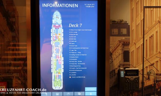 Deckplan Übersicht mit PDF Download