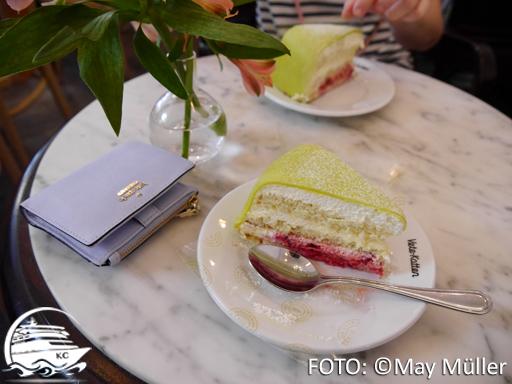 Princesstårta im Cafe Vete-katten
