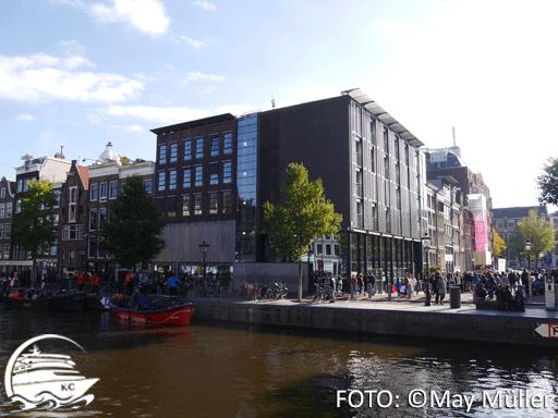 Amsterdam auf eigene Faust - Sehenswürdigkeiten: Das Anne-Frank-Haus