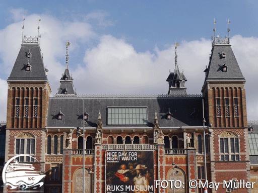 Amsterdam auf eigene Faust - Sehenswürdigkeiten: Das Rijksmuseum
