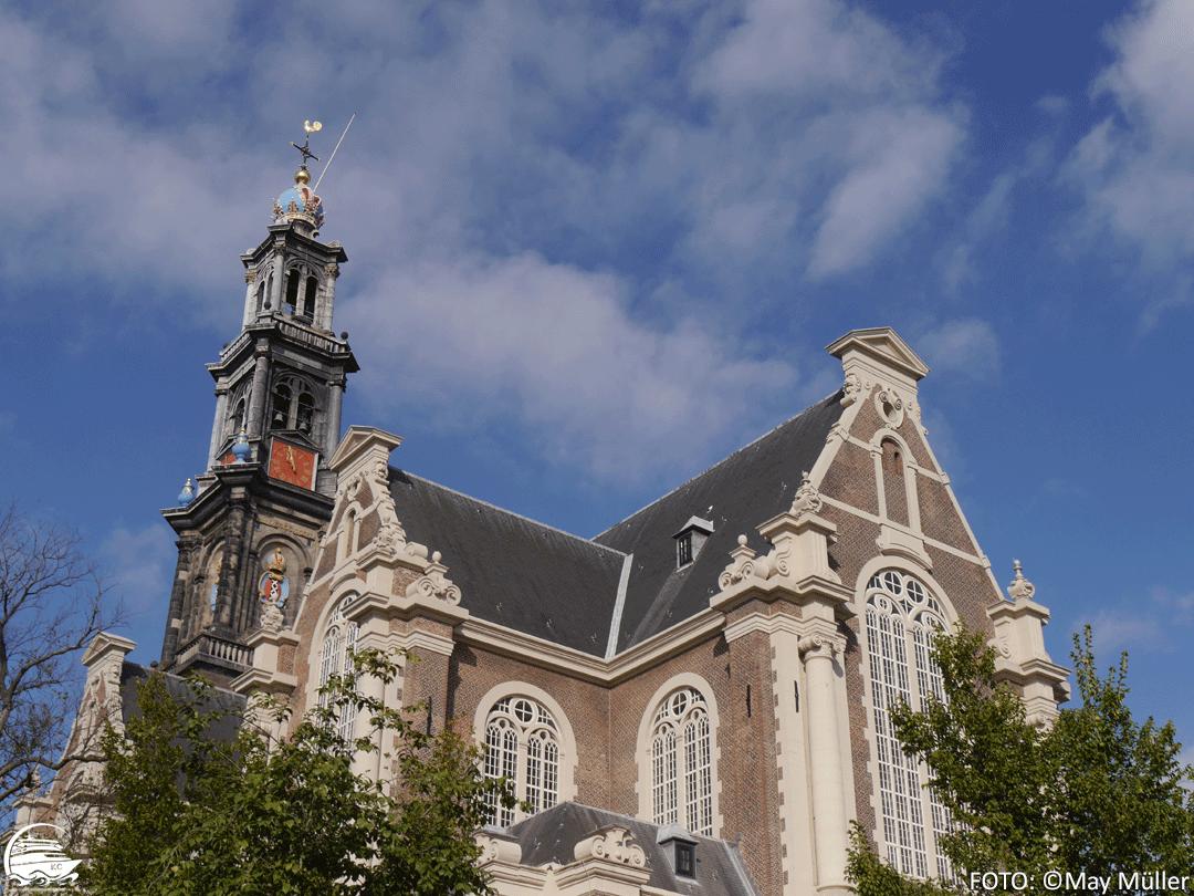 Amsterdam auf eigene Faust - Sehenswürdigkeiten: Die Westerkerk