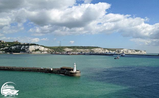 Sehenswürdigkeiten in Dover - Die Kalksteinklippen