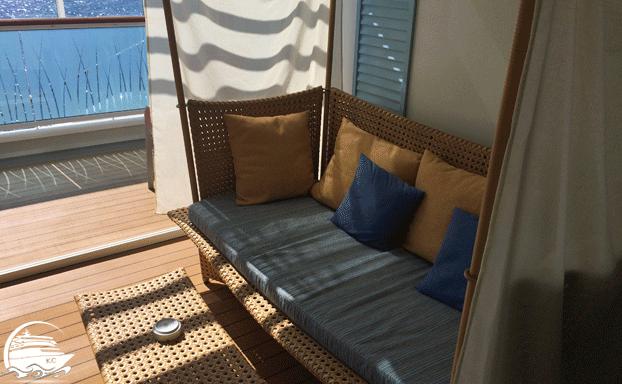 Lounge einer Juniorsuite
