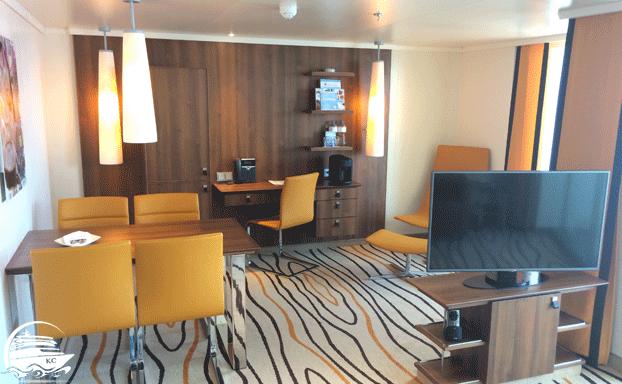 Wohnbereich einer Premium Suite