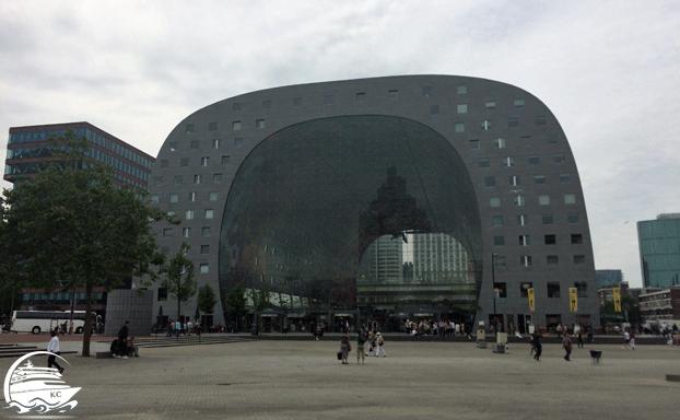 Rotterdam Sehenswürdigkeiten - Die Markthalle
