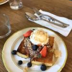Åland-Pfannkuchen im Restaurant Harju