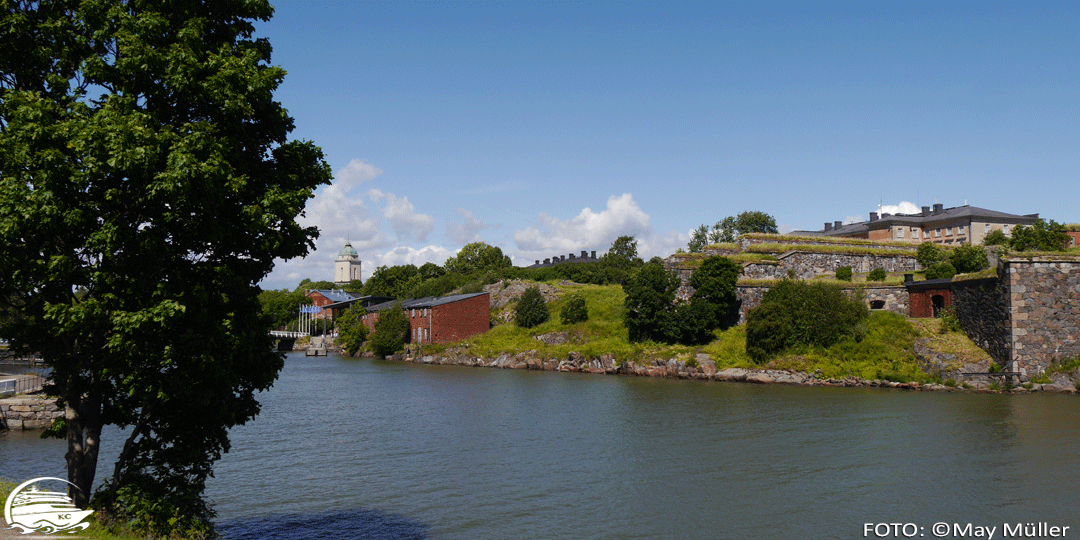 Bucht auf Suomenlinna