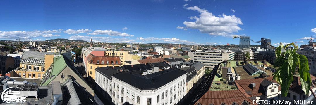 Über den Dächern von Oslo