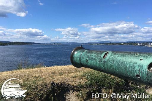 Festung Akershus, Blick auf das Meer