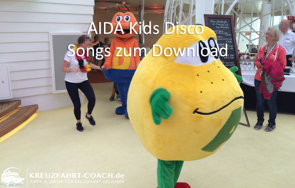 AIDA Kids Disco – Songs zum Download