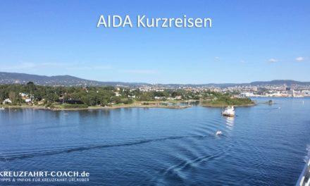 AIDA Kurzreisen