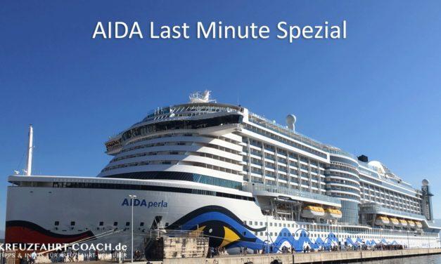 AIDA Last Minute Spezial