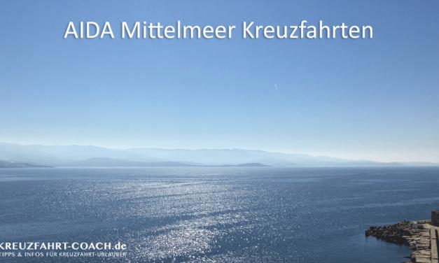 AIDA Mittelmeer Kreuzfahrten – Angebote & Routen