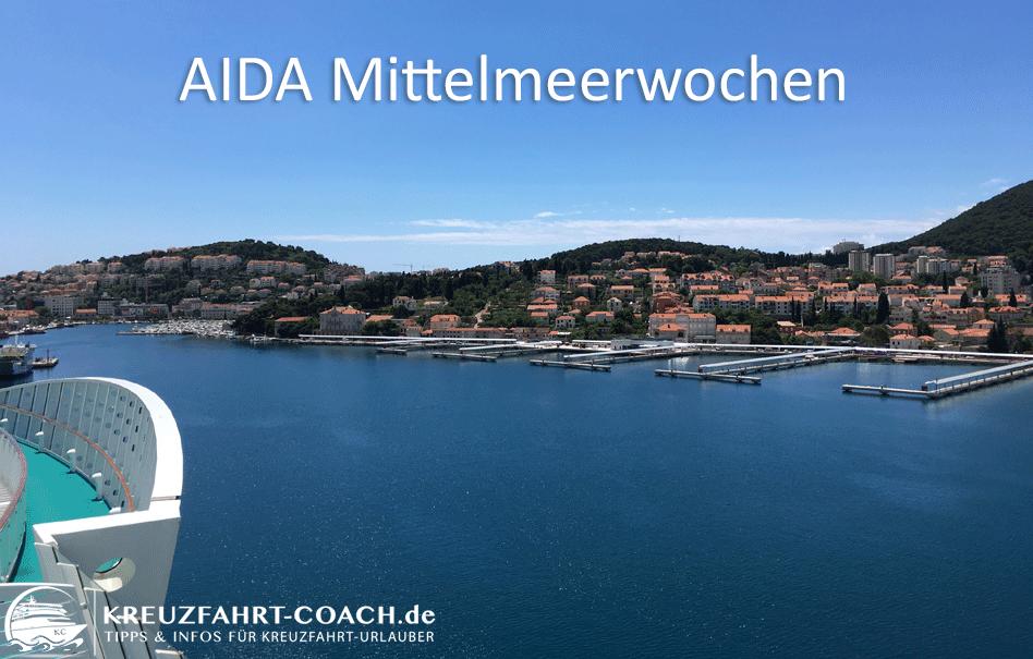 AIDA Mittelmeerwochen