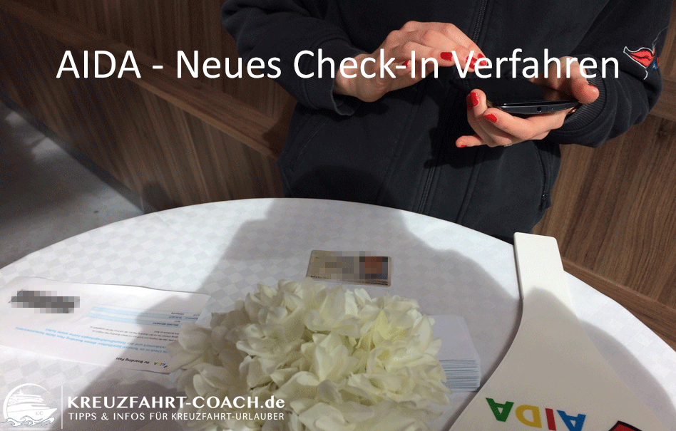AIDA – Neues Check-In Verfahren