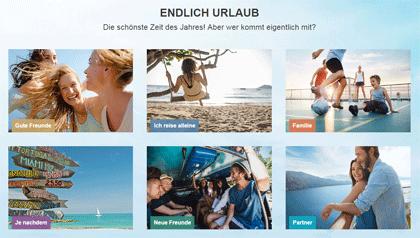 """Screenshot """"Endlich Urlaub"""""""