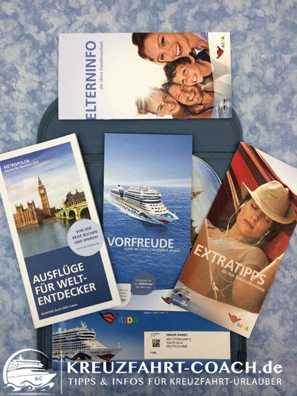 Beispiel Reiseunterlagen bei PREMIUM Buchung