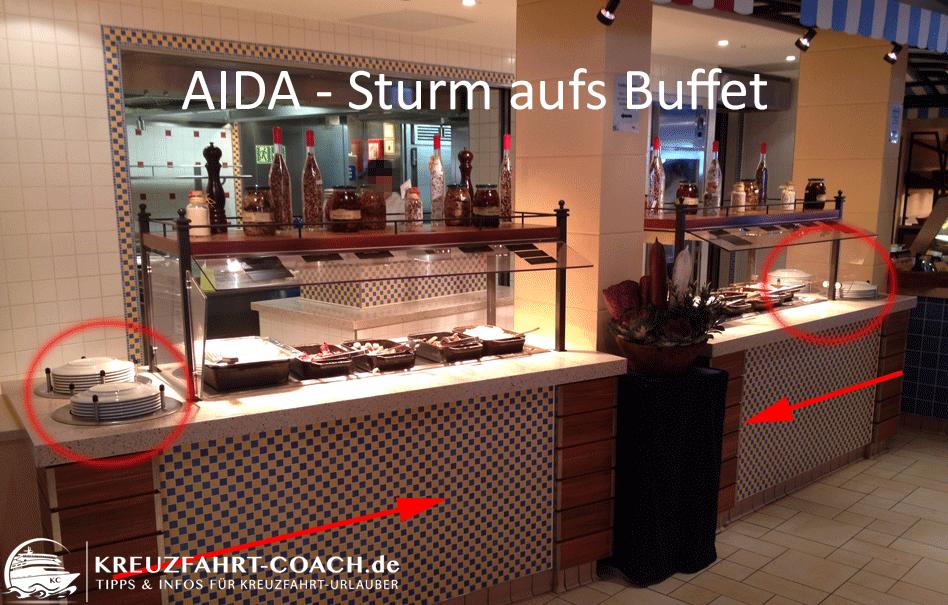 AIDA – Sturm aufs Buffet