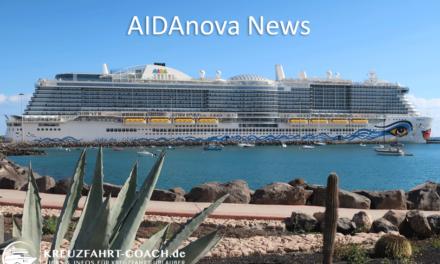 AIDAnova News – Aktuelle Infos im Überblick