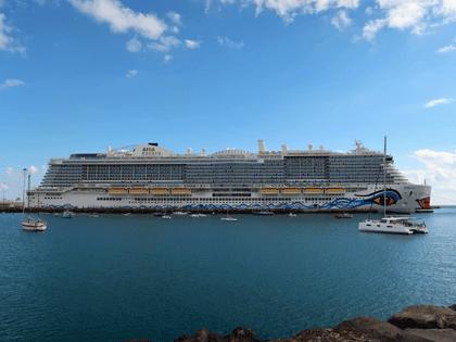 AIDAnova - Erstes Kreuzfahrtschiff mit