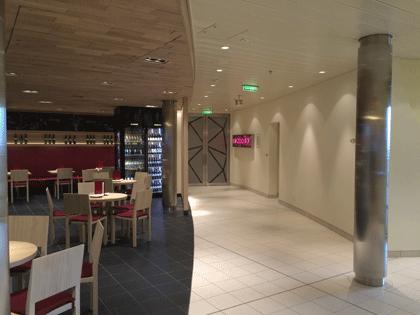 Eingangsbereich zum Nachtclub Nightfly auf AIDAprima