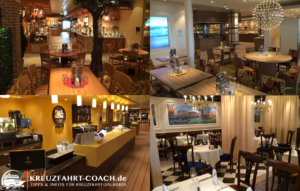 AIDAprima Restaurants
